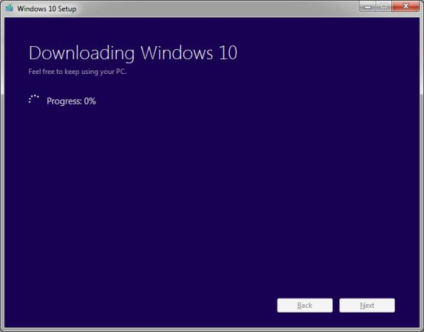 Windows 10 iso fiel downloading