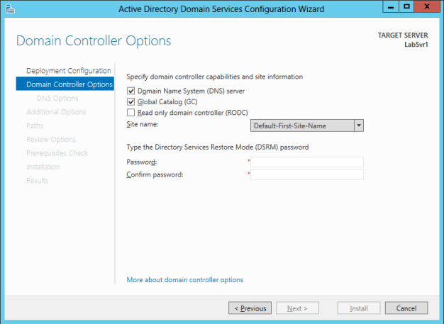 Deploying Active Directory Domain Services