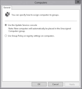 CONFIGURING WSUS COMPUTER GROUPS 4