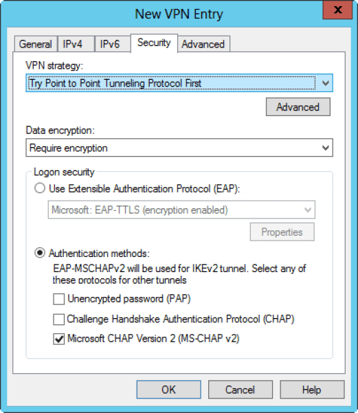 VPN deployment configurations with CMAK