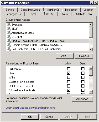 Resource Access for Users from Trusted Domains 2