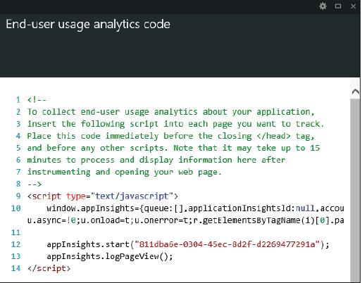 Azure Website analytics 1