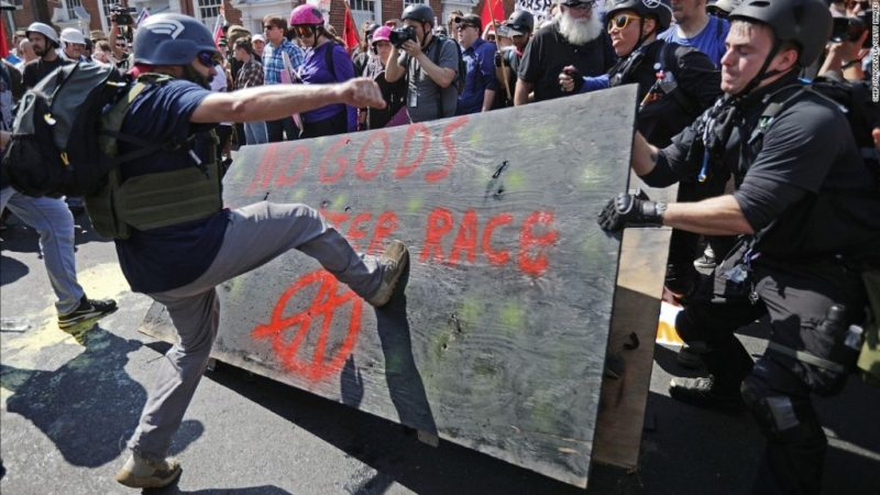 Charlottesville Rally twitter ban