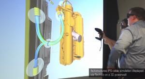 TechViz Flexstructures IPS cable simulation Laval