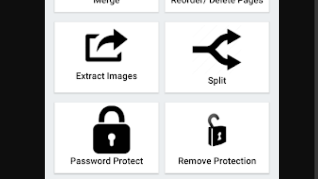 Click on password protect