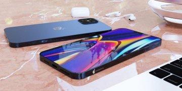 Apple iPhone 12 render design
