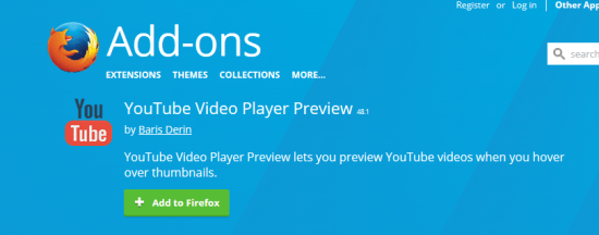 YoutubeVideoPlayerPreview.Install