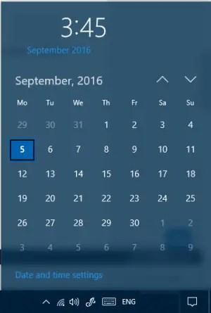 calendar agenda disabled