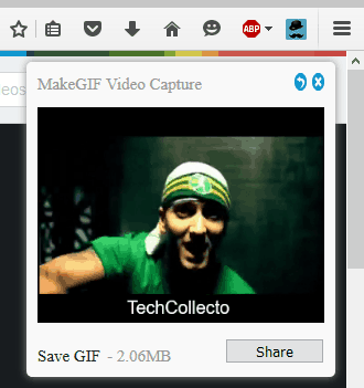 Firefox Add-on To Convert HTML5 Videos Into Animated GIFs