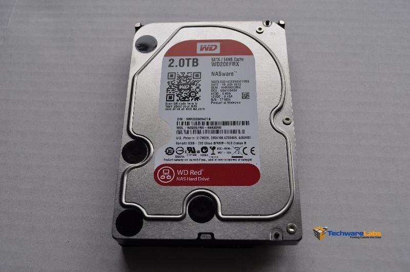 TechwareLabs Western Digital Red Drive 2TB Hard Drive - Page