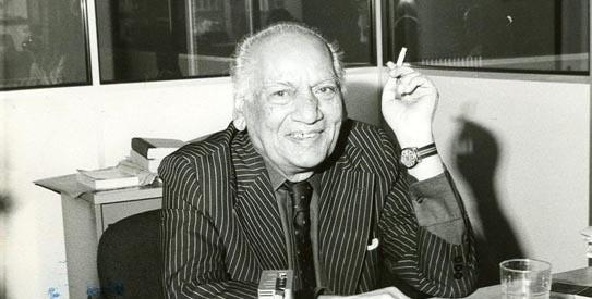 Faiz Ahmed Faiz.