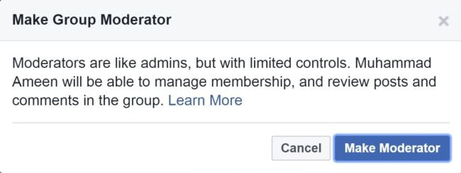Group Moderator Confirm i360.pk