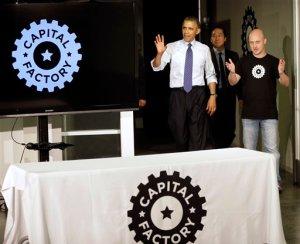 Barack Obama, Todd Park, Josh Baer