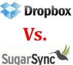 Dropbox Vs. SugarSync - Online File Storage Service Providers