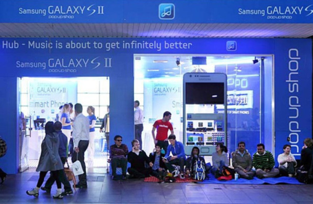Samsung Iphone 4S launch