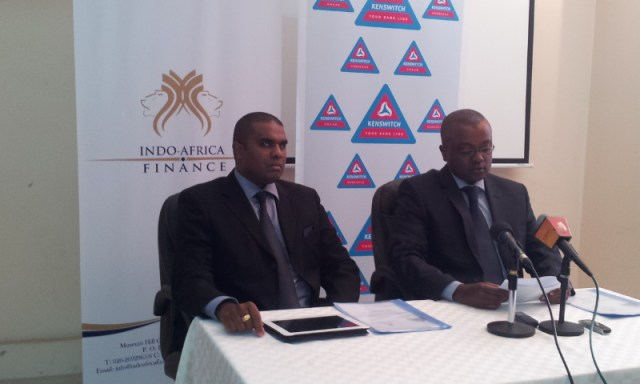 Kenswitch partners with Indo-Africa Bank