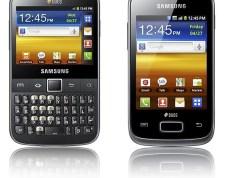 Galaxy Y Pro Duos and Galaxy Y Pro