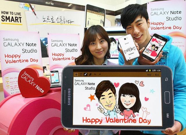 Galaxy Note Valentines
