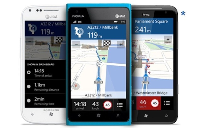 nokia drive all windows phone 8 devices