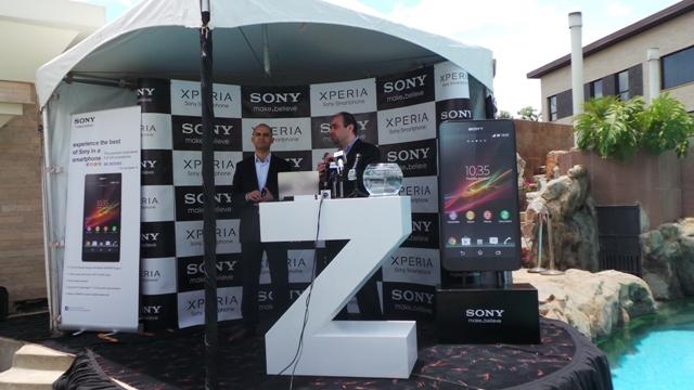 Sony Xperia Z Kenya Launch