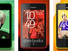 Nokia Asha new design