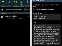 Galaxy S 4 Stability Update