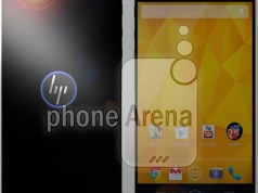 hp android smartphone render
