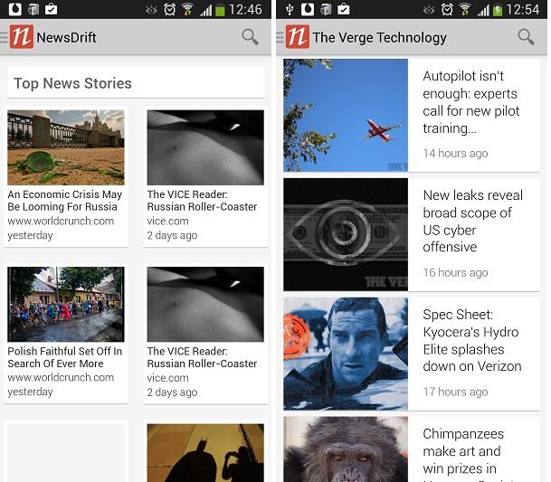 News Drift App