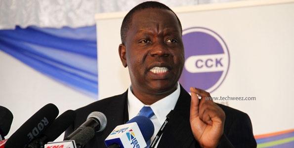 Fred Matiangi Cabinet secretary