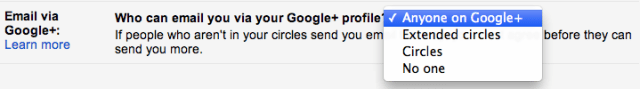 google plus integtration comes to gmail 1