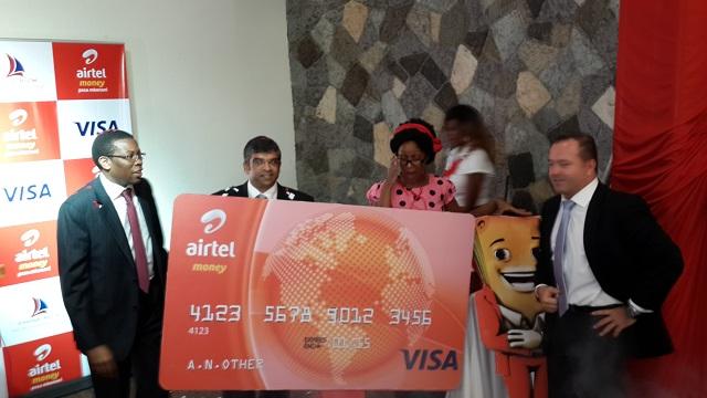 Airtel Money Visa Card