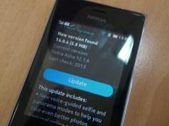 Nokia Asha Update