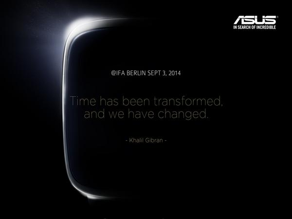 Asus wearable IFA