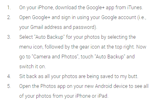 iOS to Android made easier