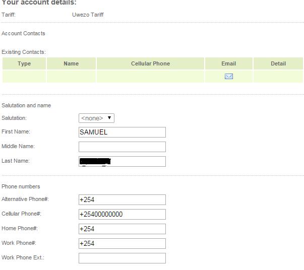 Safaricom portal