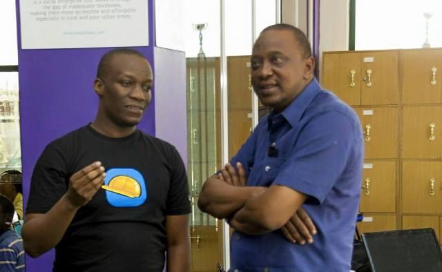 Sam Gichuru, Uhuru Kenyatta