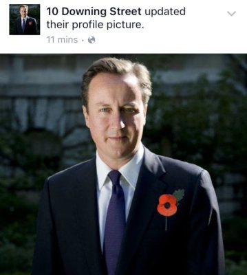 David Cameron Facebook gaffe