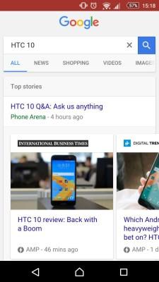 Google News in AMP