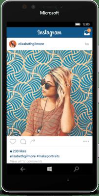 instagram windows phone 10