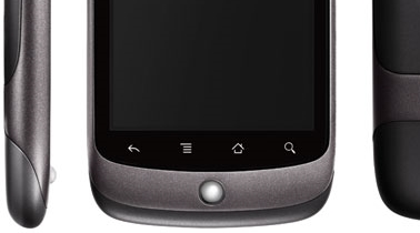 Android's standard navigation buttons pre-ICS