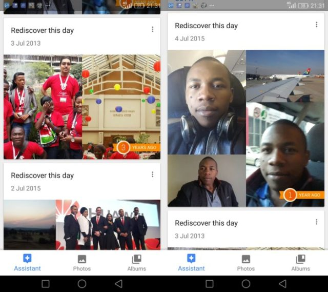 "'Rediscover this day' is my favourite Google Photos feature and makes me go back to the app daily. It's coming to OneDrive as ""On this day""."