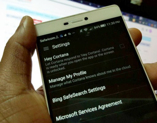 microsoft adds cortana on android lockscreen