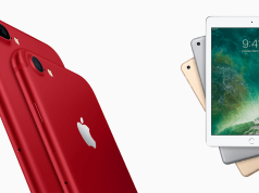 product red iPhone and new iPad