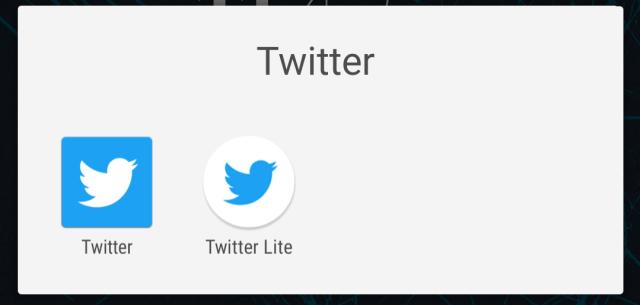 Twitter for Android vs Twitter Lite