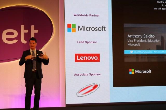 Anthony Salcito, Microsoft VP for Education