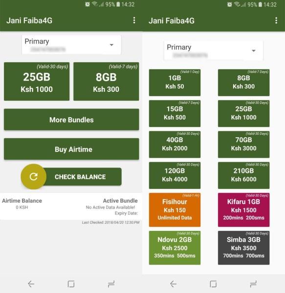 Jani Faiba4G Interface