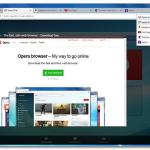 Opera 27 tab preview
