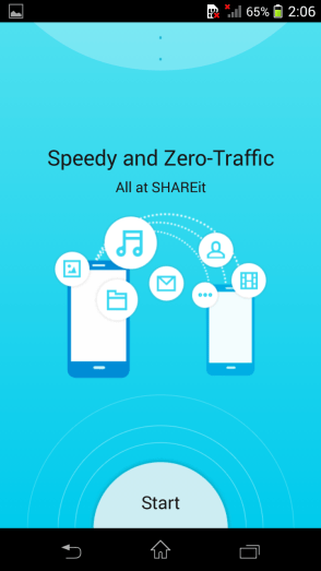 Shareit Android App Helps High Speed Data File Transfer