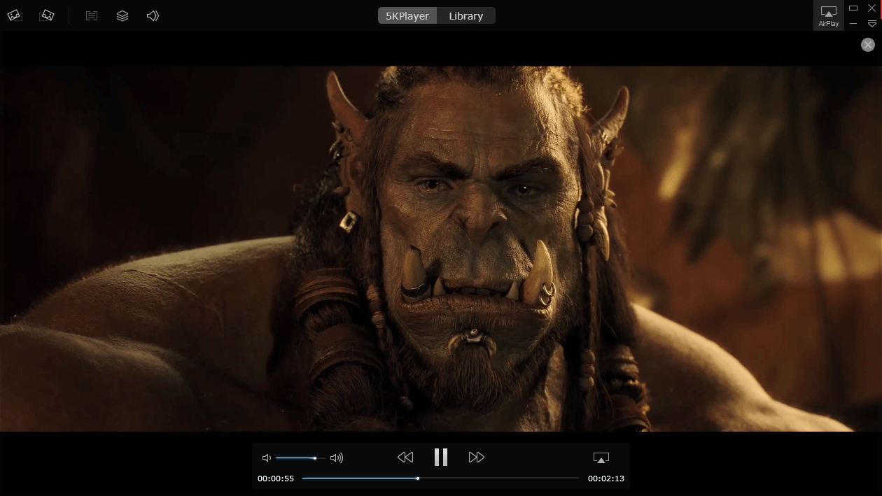 5KPlayer Free Media Player For Windows 10 8 1 XP Lets You