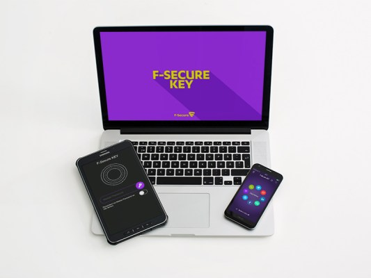 f secure free security key